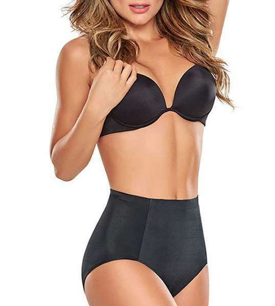 ae65e9010d Mid-Waist Butt-Lifting Control Panties by TrueShapers 1275. Black