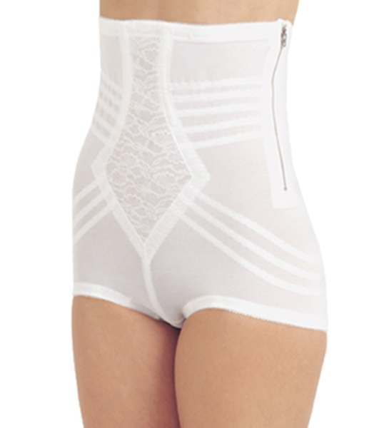 2d6225f86c Rago High Waist Brief Girdle with Zipper 6101