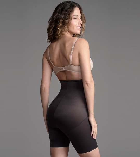16677a4477721 Naomi   Nicole Unbelievable Comfort High-Waist Thigh Slimmer 779 · Black