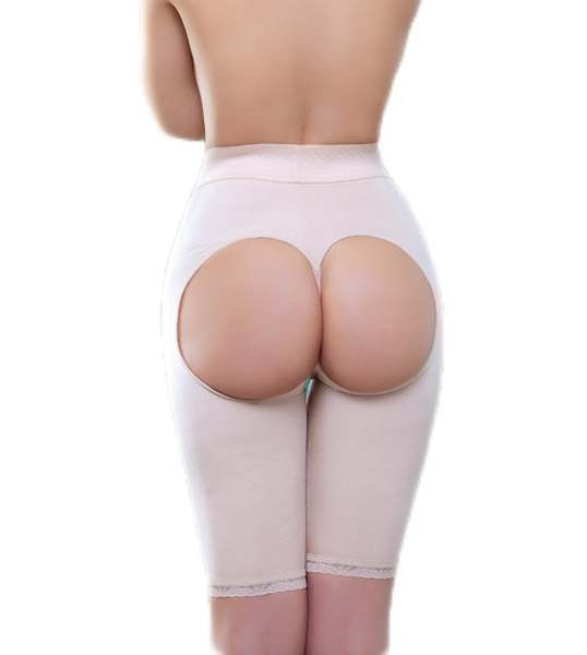 57c7a36e1 Amie Mid Thigh High Waist Open Bottom Enhancer by Vedette 911
