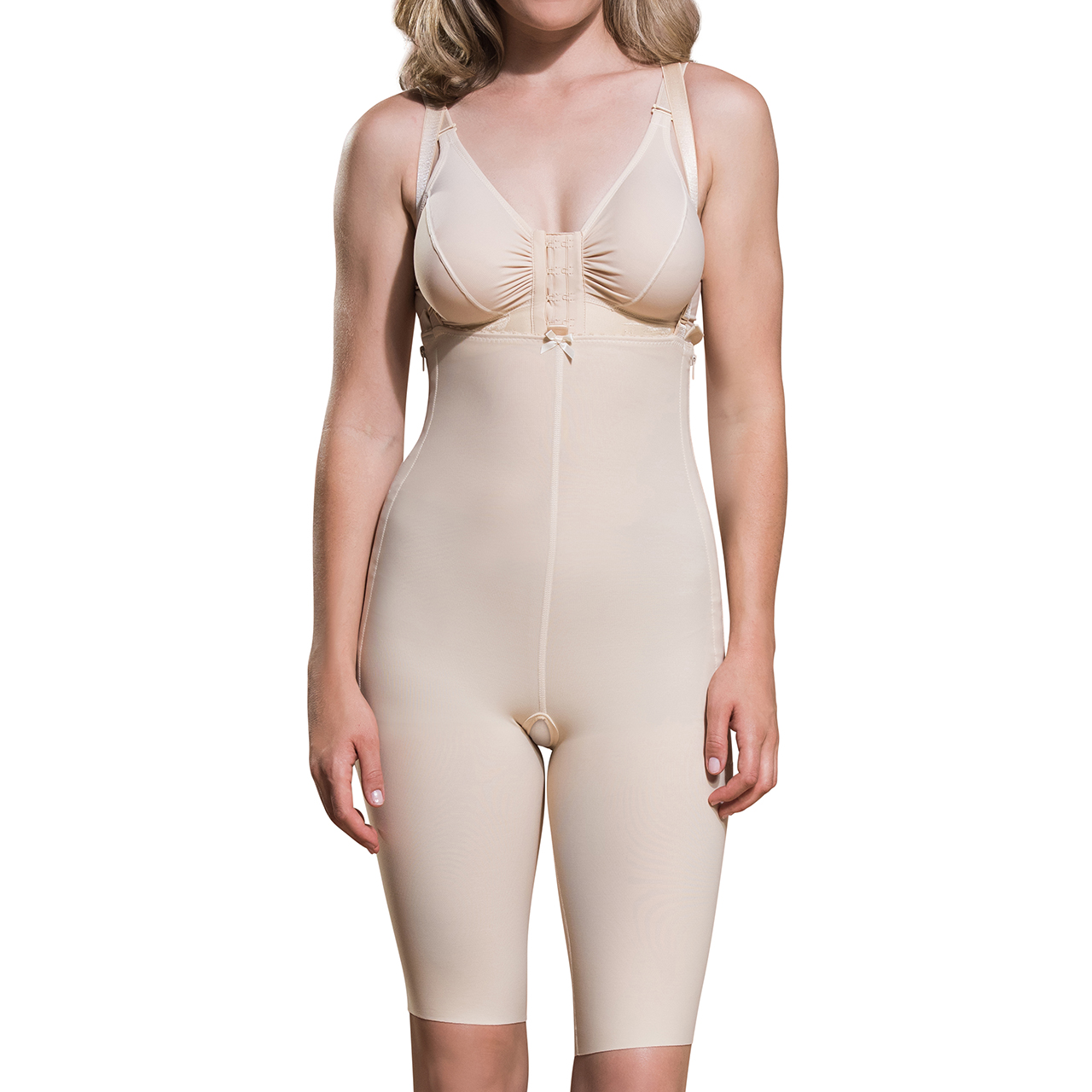 b8764f6a6f6 First Stage Suit with Suspenders and Short Legs by Marena Recovery FBS -  Hourglass Angel