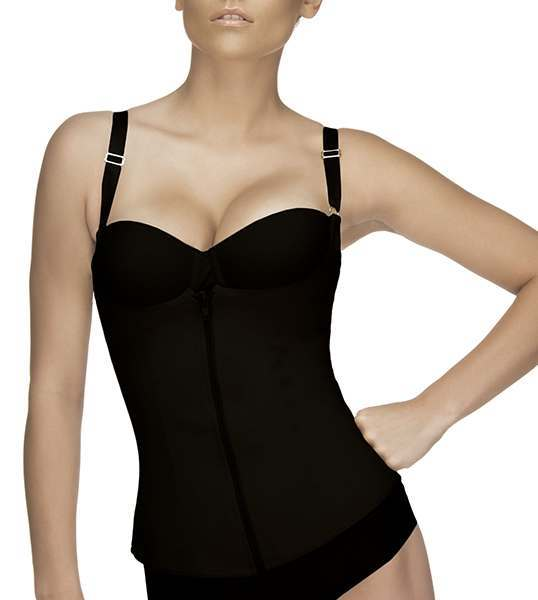 39a762041 Vedette Felice Firm Compression Classic Corset with Zipper 400