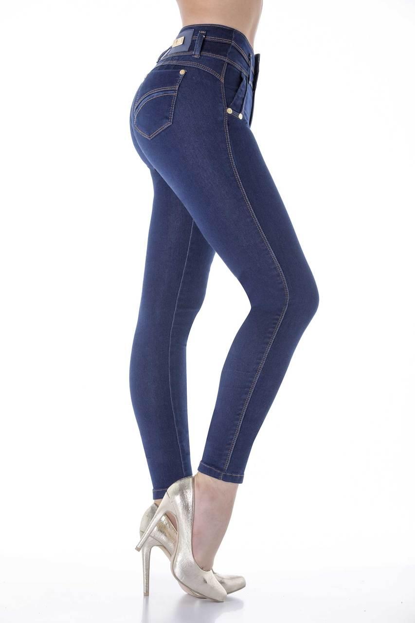 8aea3ffbf07 Fashionista Butt-Lifting Jeans by Bon Bon Up 3810 - Hourglass Angel