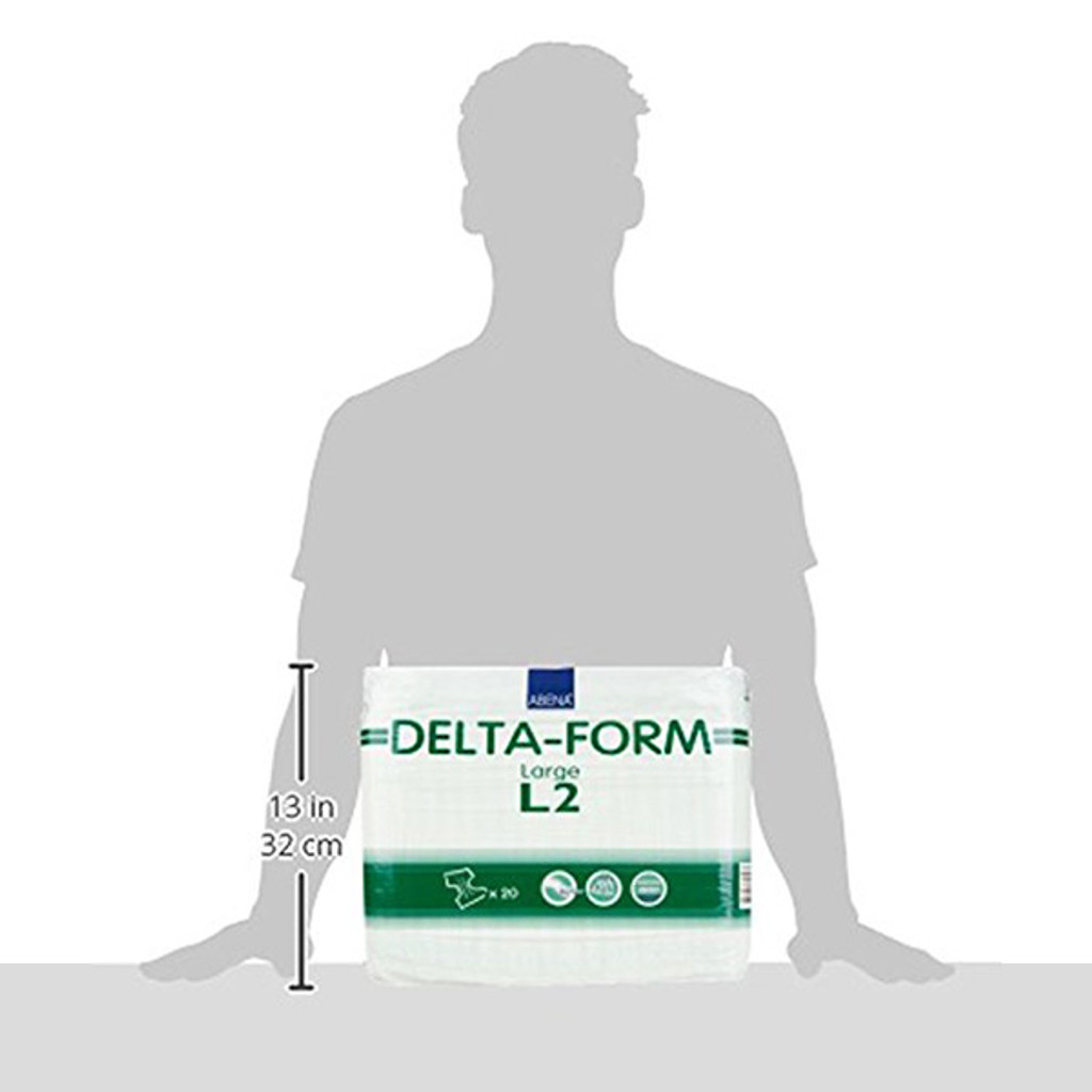 Delta-Form L2: 80 Count (4 packs of 20)