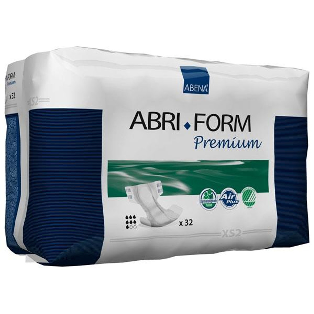 Abri-Form Premium XS2, Briefs (all-in-one diaper), Extra Small
