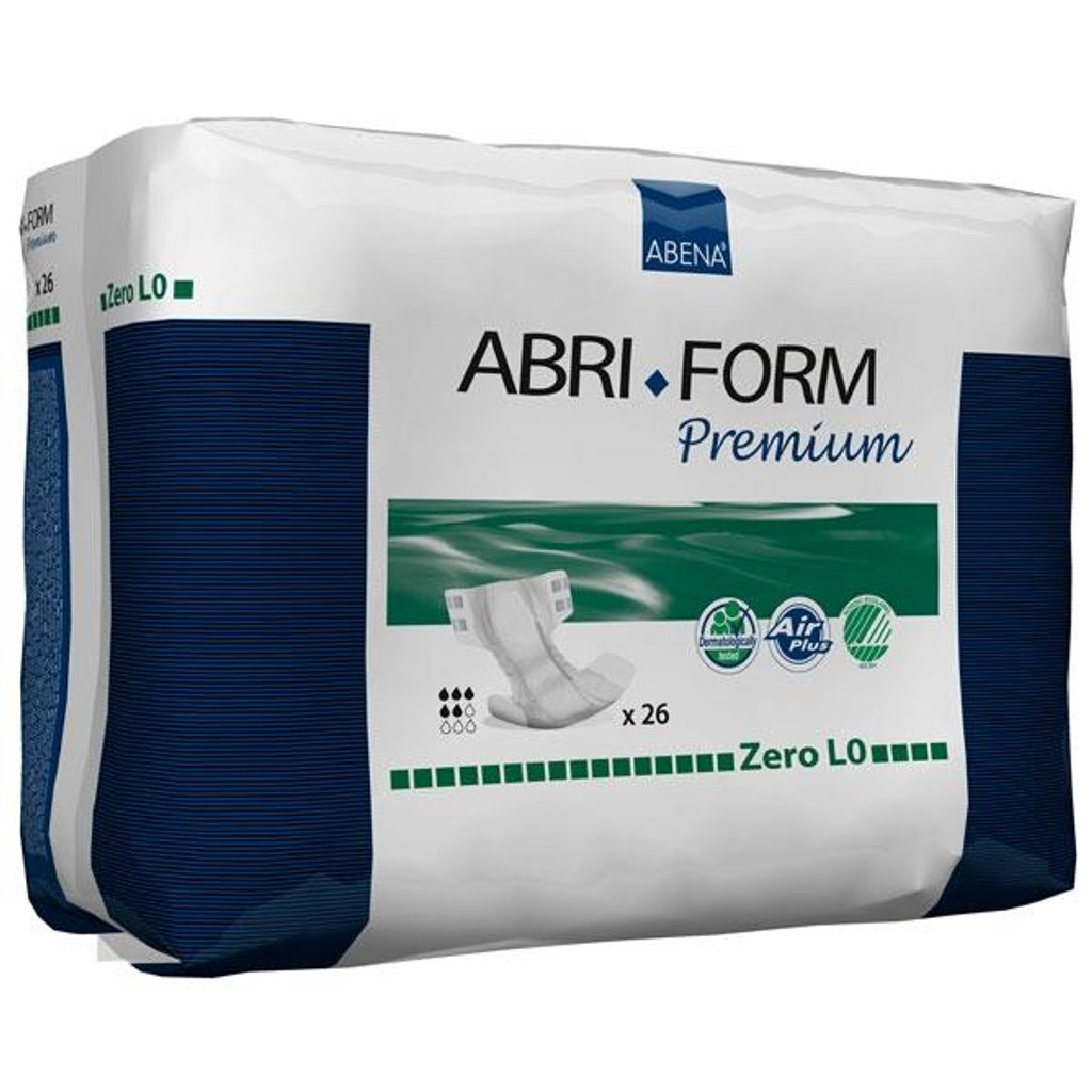 Abri-Form L0 | Abena and KCK's complete range of all-in-one incontinence pads for moderate to heavy incontinence.