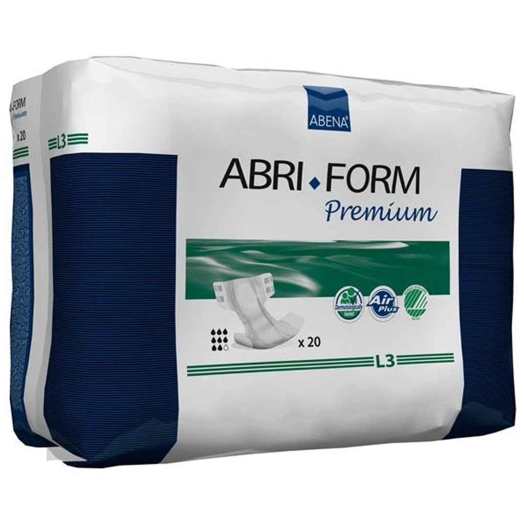 Abri-Form Premium L3, Briefs (all-in-one diaper), Large