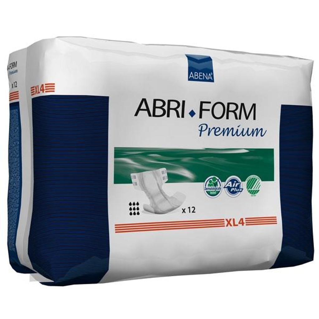Abri-Form Premium XL4, Briefs (all-in-one diaper), Extra Large