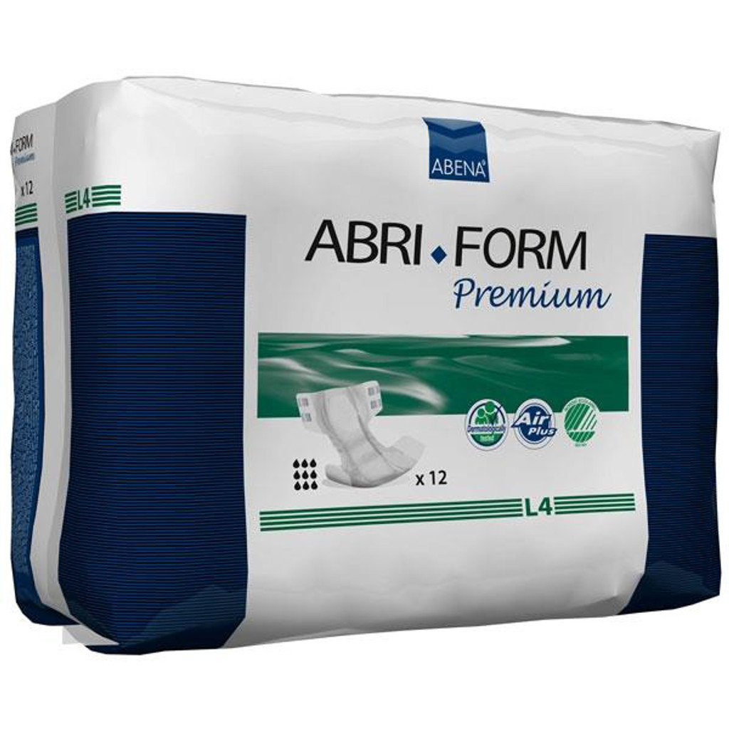 Abri-Form Premium L4, Briefs (all-in-one diaper), Large