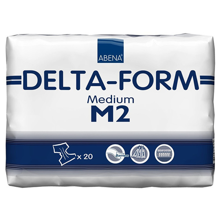 Delta-Form M2: 80 Count (4 packs of 20)
