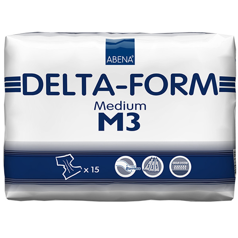 Delta-Form M3: 60 Count (4 packs of 15)