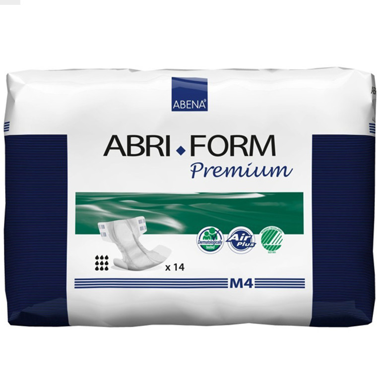 Abri-Form Premium M4, Brief (all-in-one diaper), Medium