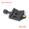 SunwayFoto DDC-60L Screw-Knob Clamp - Arca-Swiss Compatible