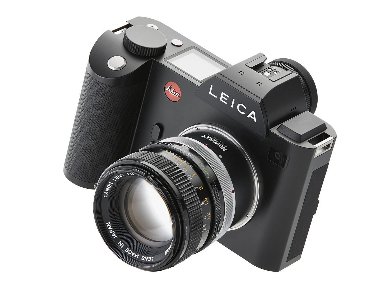 Novoflex LET/CAN Adapter - Canon FD Lenses to Leica T (SL) Camera Mount   Availability 7 to 21 days