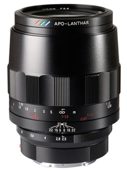 Voigtlander MACRO 110mm f/2.5 APO LANTHAR - Sony E Mount
