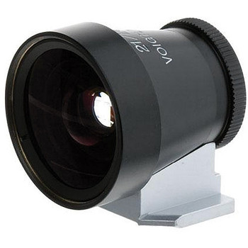 Voigtlander Viewfinder - 21/25mm Metal (Black) - Special Order 14 to 21 Days