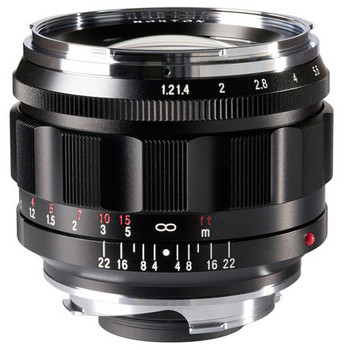 Voigtlander Nokton 50mm f/1.2 Aspherical VM Lens - Leica M Mount