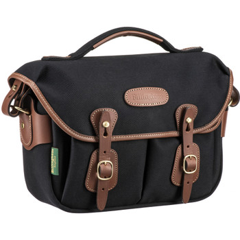 Billingham Hadley One Camera Bag (Black with Tan Leather)