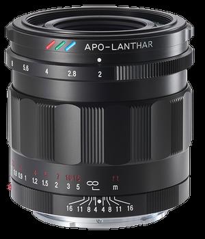 Voigtlander 50mm f/2 APO-Lanthar Lens- Sony E Mount