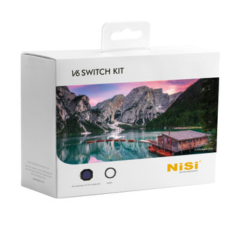 NiSi V6 Switch Kit – 100mm Filter Holder with Enhanced Landscape CPL & Switch