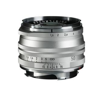 Voigtlander NOKTON Vintage Line 50mm f/1.5 Aspherical II SC Lens (Silver) - Leica M Mount