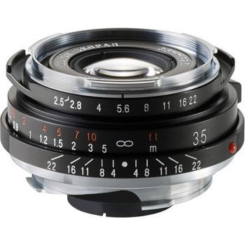 Voigtlander 35mm f/2.5 Color Skopar PC-II Lens - Leica M Mount