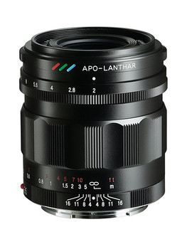 Voigtländer Apo-Lanthar 35mm f/2 Aspherical E Mount (Black)