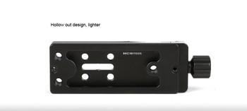 SunwayFoto DMP-100R Multi-Purpose Rail Nodal Slide with Screw-knob Clamp (Open Box Special)