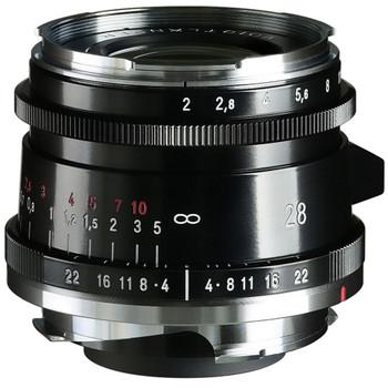 Voigtlander ULTRON Vintage Line 28mm f/2 Aspherical VM Type II (Black)
