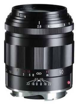 Voigtländer APO-SKOPAR 90mm f/2.8 VM Lens - Black (M Mount)
