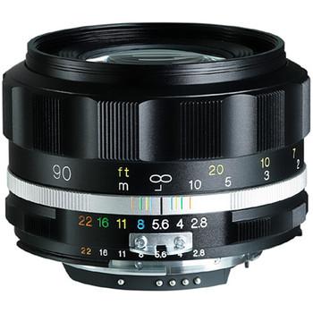 Voigtländer APO-LANTHAR 90mm f/2.8 SLIIs - Black Rim (Nikon F Mount)