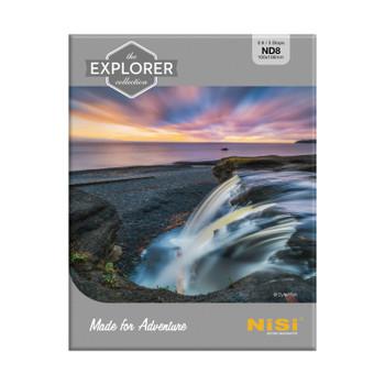 NiSi Explorer Series 100x100mm Nano IR Neutral Density filter - ND8 (0.9) - 3 Stop