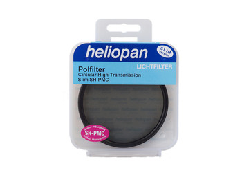 62mm Heliopan Circular Polariser High Transmission SH-PMC Slim Filter