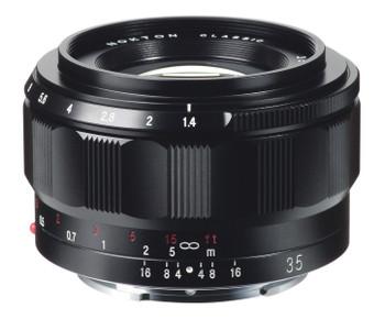 Voigtlander 35mm f/1.4 Lens Nokton Classic - Sony E Mount