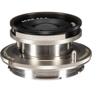 Voigtlander 40mm f/2.8 Compact Aspherical Heliar Pancake Lens - use with an M-mount Close Focus Adapter