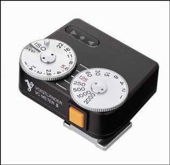 Voigtlander VC II Exposure Meter (Black)