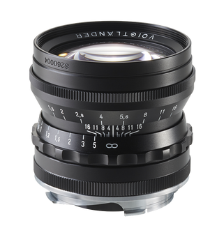 Voigtlander 50mm f1.5 Nokton Asph Lens (Black) - Leica M Mount
