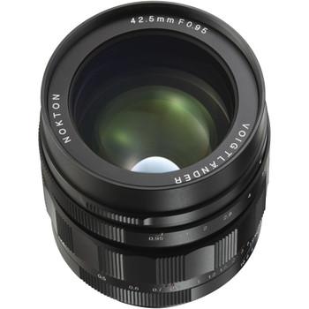 Voigtlander 42.5mm f0.95 Nokton MFT Lens