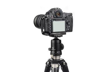 Sunwayfoto PNL-D850 Custom L Bracket for Nikon D850 (Without Grip)