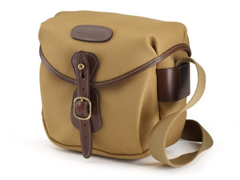 Billingham Hadley Digital FibreNyte - Khaki with Chocolate Leather