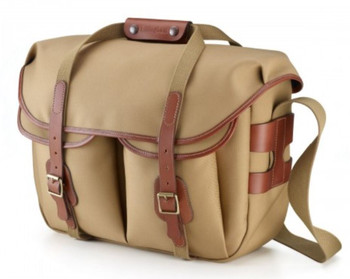 Billingham Hadley Large Pro Khaki Canvas with Tan Leather