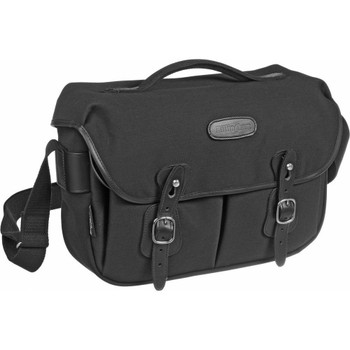 Billingham Hadley Pro: Black Canvas with Black Leather