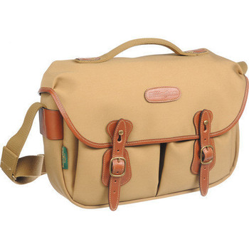 Billingham Hadley Pro Khaki FibreNyte with Tan Leather