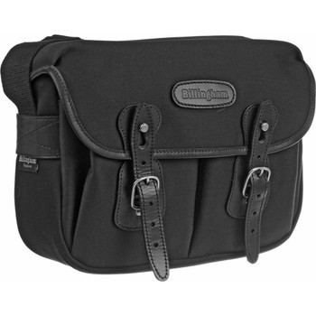 Billingham Hadley Small Black FibreNyte with Black Leather