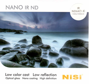 NISI 100x100mm Square ND Filter 6 Stops