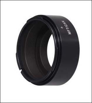 Novoflex MFT/CONT Adapter - Contax Lenses to Micro Four Thirds Cameras. Availability 7 to 14 days.