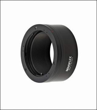Novoflex NEX/CONT Adapter - Contax/Yashica Lenses to Sony E-Mount Cameras. Availability 7 to 14 days.