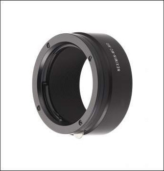 Novoflex NEX/MIN-MD Adapter - Minolta MD Lenses to Sony E-Mount