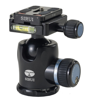 Sirui W-1204 Waterproof Tripod with Sirui K-10II Ballhead