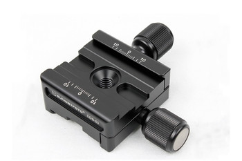 SunwayFoto DDB-53 Bi-directinoal Screw-Knob Clamp - Arca-Swiss Compatible